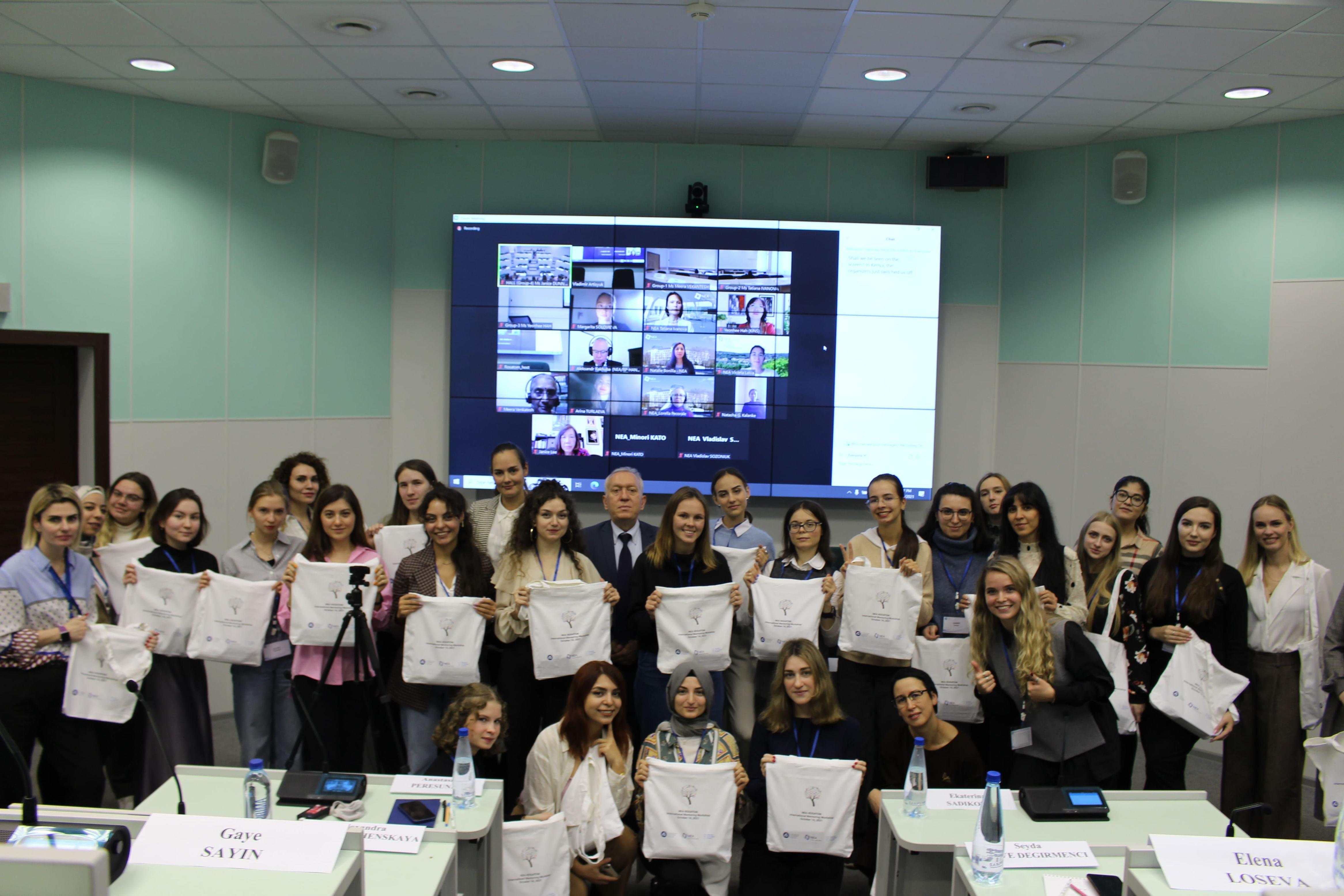 Представительницы Технической академии Росатома приняли участие в Евразийском женском форуме