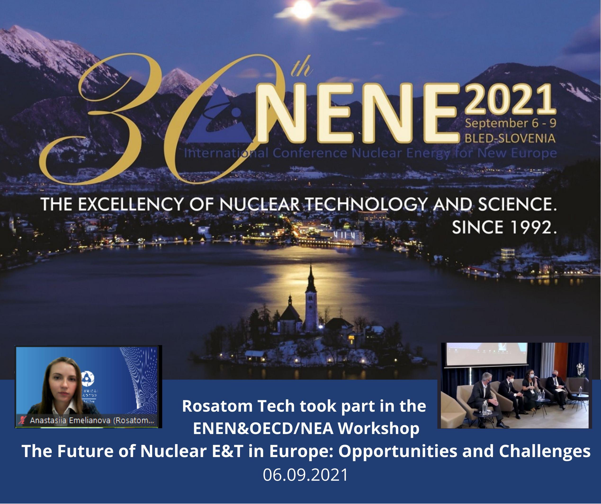 Техническая академия приняла участие в совместном семинаре ENEN и АЯЭ ОЭСР