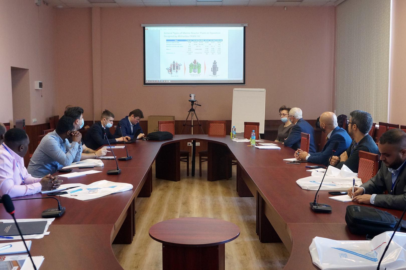 В НГТУ им.Р.Е.Алексеева стартовал учебный курс Росатома по атомным станциям малой мощности