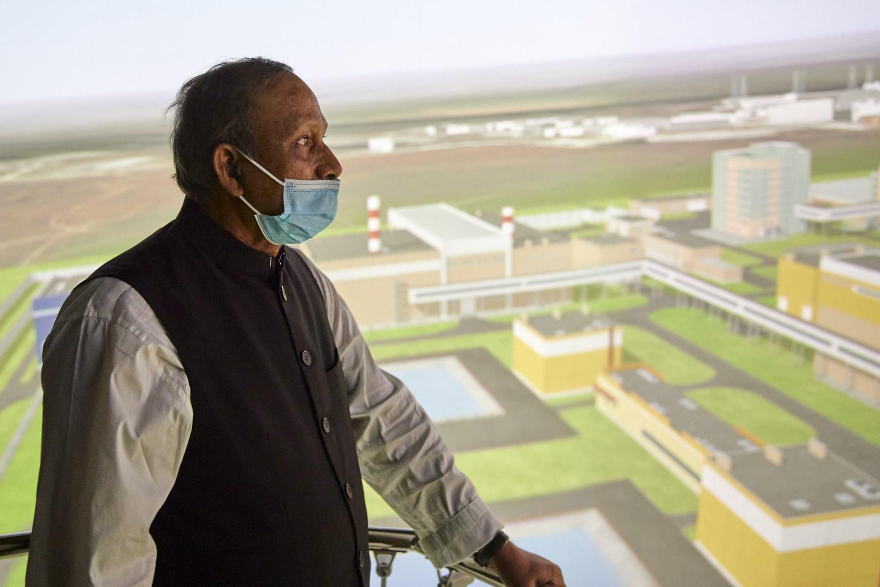 Министр науки и технологий Народной Республики Бангладеш Яфеш Осман посетил Техническую академию Росатома